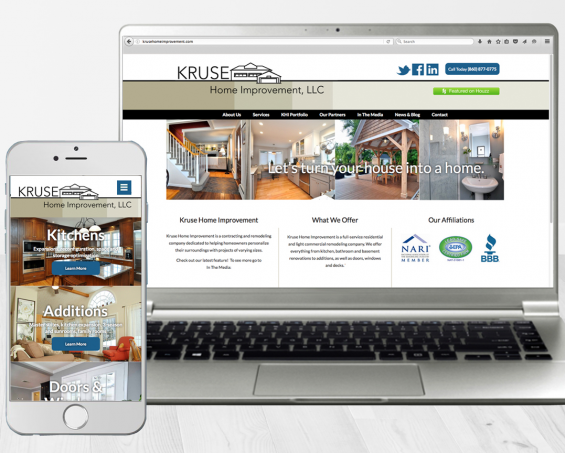PRESS RELEASE: Jumpstart Gives Home Improvement Company's Website A Boost into 2015